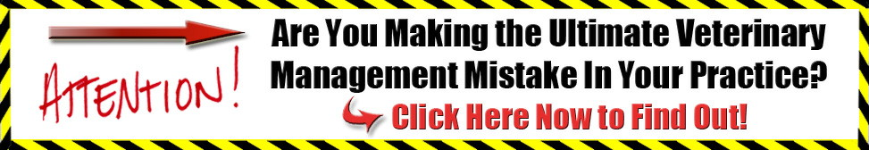 vet marketing banner 1 - veterinary management mistake